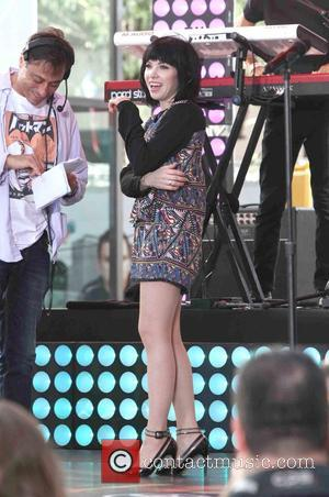 Carly Rae Jepson - Today Show Summer Concert Series 2015 - Carly Rae Jepsen - New York City, New York,...