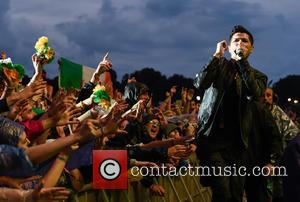 The Script - V Festival 2015 at Weston Park - Day 1 - Performances - The Script at Weston Park,...
