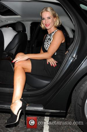 Denise Van Outen - Denise Van Outen and Kimberley Walsh leave Cadogan Halls on their final night of performing in...