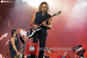 Metallica - Metallica perform live in front of 63,036 fans at Ullevi stadium at Ullevi Stadium - Gothenburg, Sweden -...