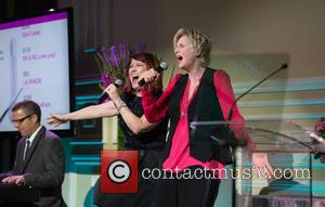 Kate Flannery and Jane Lynch
