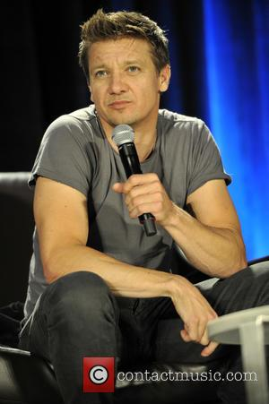 Jeremy Renner Recording An Album