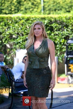 Candis Cayne - Candis Cayne  appears on 'Extra' at Universal Studios - Los Angeles, California, United States - Monday...