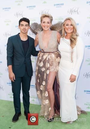 Joe Jonas, Sharon Stone , Victoria Noyes - Drever Family Foundation presents the 2015 Hotbed Benefit - Arrivals - Tiburon,...