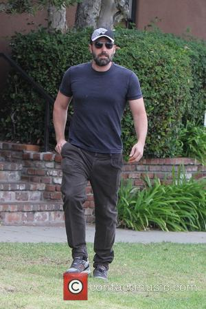 Ben Affleck - Ben Affleck out with his daughter in Brentwood for the day - Los Angeles, California, United States...