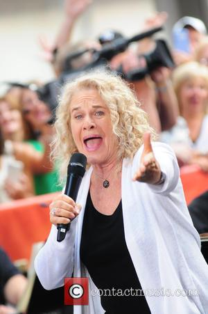 Carole King - 'Beautiful - The Carole King Musical' cast performing live on the 'Today' show concert series - NY,...