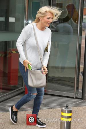 Gaby Roslin - Gaby Roslin outside ITV Studios - London, United Kingdom - Tuesday 25th August 2015