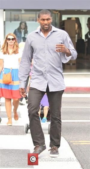 Metta World Peace - Basketball player Metta World Peace goes shopping in Beverly Hills - Los Angeles, California, United States...
