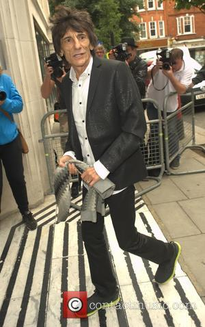 Ronnie wood - Celebrities at the BBC Radio 2 studios - London, United Kingdom - Tuesday 25th August 2015