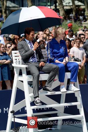 Rafael Nadal , Jane Lynch - Tommy Hilfiger and Rafael Nadal Launch Global Brand Ambassadorship - Manhattan, New York, United...