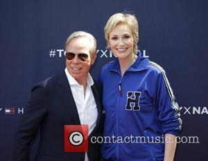 Tommy Hilfiger and Jane Lynch