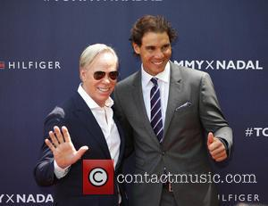Tommy Hilfiger , Rafael Nadal - #Tommyxnadal celebrating the launch of Tommy Hilfiger's new line of custom suits and underwear...