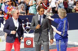 Tommy Hilfiger, Rafael Nadal and Jane Lynch