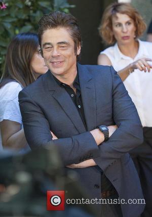 Benicio del Toro - Benicio del Toro attends a photocall for 'Un Dia Perfecto' at Villamagna Hotel - Madrid, Spain...