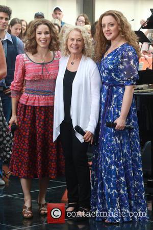 Carole King, Chilina Kennedy , Abby Mueller - Carole King performs on the TODAY show with actors Chilina Kennedy and...