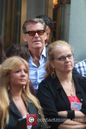 Pierce Brosnan - Celebrities at the TODAY show at Rockefeller Plaza - New York City, United States - Tuesday 25th...