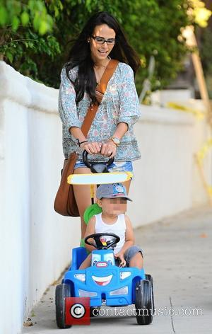 Jordana Brewster , Julian Form-Brewster - Jordana Brewster and her sister Isabella Brewster out with their children in Brentwood, Los...