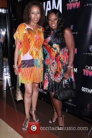 Tamara Tunie , Star Jones - After party celebrating Misty Copeland in her Broadway debut in 'On The Town' at...