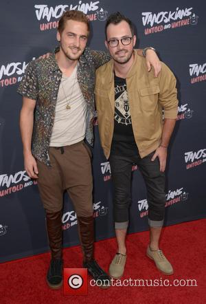 Kendall Schmidt , Dustin Bell - Los Angeles premiere of Awesomeness TV's 'Janoskians: Untold and Untrue' at Regency Bruin Theatre...