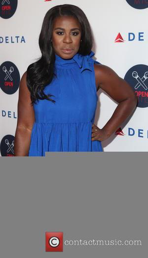Uzo Aduba - 2nd Annual Delta Open Mic at Arena - Arrivals - New York, New York, United States -...