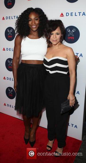Serena Williams , Rose Perez - 2nd Annual Delta Open Mic at Arena - Arrivals - New York, New York,...