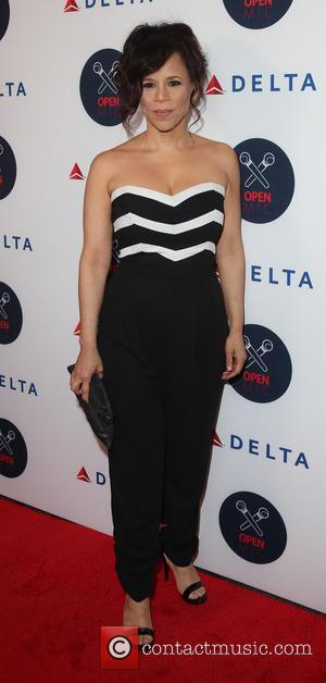 Rosie Perez - 2nd Annual Delta Open Mic at Arena - Arrivals - New York, New York, United States -...