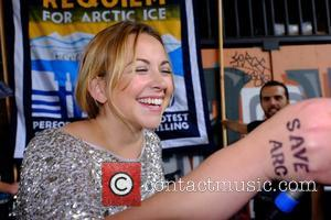 Charlotte Church - Charlotte Church sings requiem for Arctic for Greenpeace - London, United Kingdom - Wednesday 26th August 2015