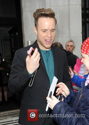 Olly Murs - Olly Murs at BBC Radio 2 - London, United Kingdom - Wednesday 26th August 2015