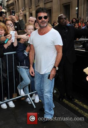 Simon Cowell - Simon Cowell arrives at X Factor launch at x factor - London, United Kingdom - Wednesday 26th...