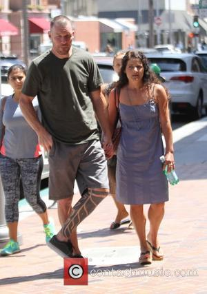 Tim Commerford , Aleece Dimas - Rage Against the Machine bassist, Tim Commerford with his wife in Beverly Hills -...
