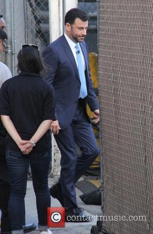 Jimmy Kimmel - Jimmy Kimmel arrives at the ABC studios to record 'Jimmy Kimmel Live!' at jimmy kimmel - Los...