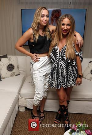 Brandi Cyrus and Diana Madison