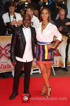 Melvin Odoom, Rochelle Humes and Rochelle Wiseman