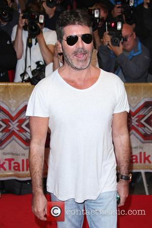 Simon Cowell - The X Factor press launch held at the Picturehouse - Arrivals at The X Factor - London,...