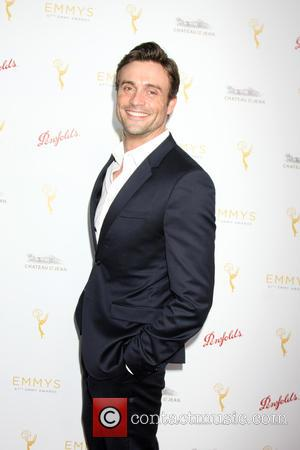 Daniel Goddard - TV Academy Daytime Peer Reception - Arrivals at Montage Hotel - Los Angeles, California, United States -...
