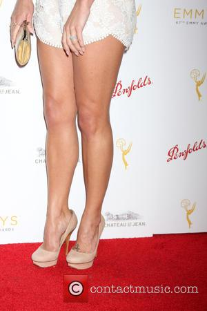 Melissa Claire Egan - TV Academy Daytime Peer Reception - Arrivals at Montage Hotel - Los Angeles, California, United States...