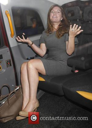 Karren Brady - X Factor 2015 new series launch at the Picturehouse - Departures at x factor - London, United...