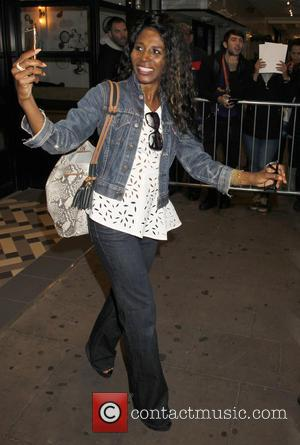 Sinitta - X Factor 2015 new series launch at the Picturehouse - Departures at x factor - London, United Kingdom...