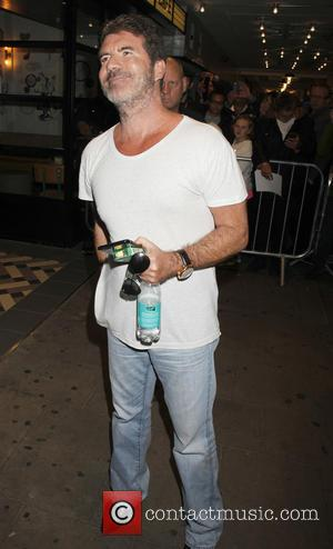 Simon Cowell - X Factor 2015 new series launch at the Picturehouse - Departures at x factor - London, United...