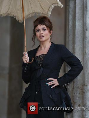 Helena Bonham Carter - Helena Bonham Carter launches BFI Love! at The British Museum holding her original parasol from 'A...