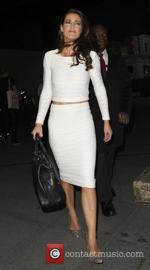 Kirsty Gallacher - Kirsty Gallacher leaving the One Show after being announced as another strictly come dancing contestant - London,...