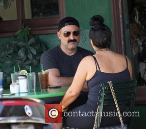 Reza Farahan - 'Shahs of Sunset' star Reza Farahan has lunch with friends in Hollywood - Los Angeles, California, United...