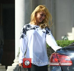 Aliona Vilani - 'Strictly Come Dancing' contestants and professional dancers leaving rehearsals at london, Strictly Come Dancing - London, United...