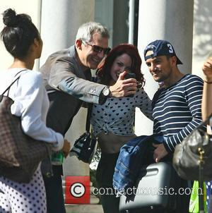 Peter Andre , Jeremy Vine - 'Strictly Come Dancing' contestants and professional dancers leaving rehearsals at london, Strictly Come Dancing...
