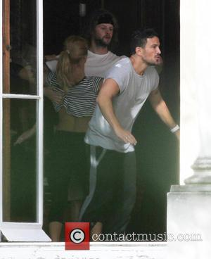 Peter Andre, Aliona Vilani , Jay McGuiness - 'Strictly Come Dancing' rehearsals at london, Strictly Come Dancing - London, United...