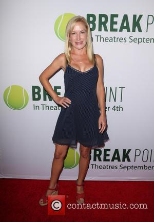 Angela Kinsey - Special screening of Broad Green Pictures' 'Break Point' - Arrivals at Hollywood - Los Angeles, California, United...