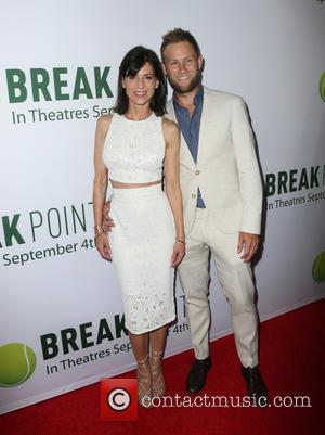 Perrey Reeves , Aaron Endress-Fox - Special screening of Broad Green Pictures' 'Break Point' - Arrivals at Hollywood - Los...