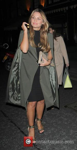 Sam Faiers - Celebrities out and about in London - London, United Kingdom - Thursday 27th August 2015