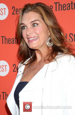 Brooke Shields - Opening night for Whorl Inside A Loop at the Second Stage Theatre - Arrivals. at Second Stage...