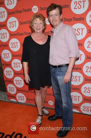 Becky Ann Baker , Dylan Baker - Opening night for Whorl Inside A Loop at the Second Stage Theatre -...